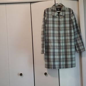 Burberry London long trench coat size 8